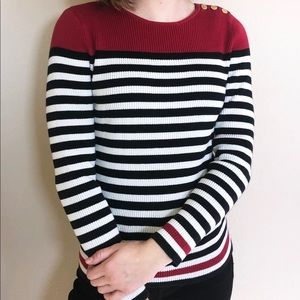 Ralph Lauren Women's Striped Sweater